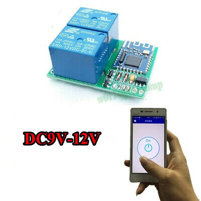 DC 12V BLUETOOTH Relay Switch Module Wireless Mobile Phone APP Remote  Control S