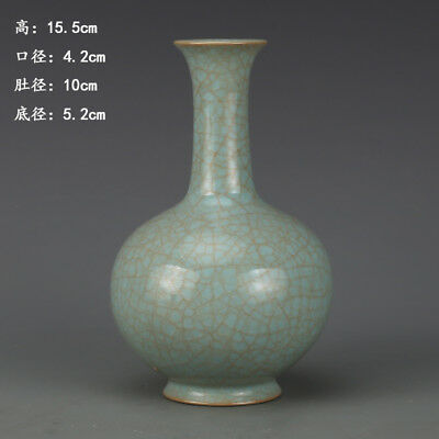Ancient Antiques Chinese hand make porcelain Ice flask