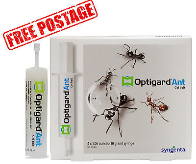 Advion Optigard Ant Gel Bait - 1 Tube + Free Plunger/tip & Shipping!!
