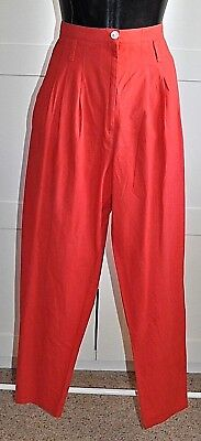 Vintage 80's FELLINI Pleat Front Pants