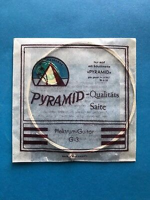 1970's Vintage Pyramid Guitar String Made in West Germany Rare Collectors Item!!