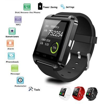 Bluetooth Smart Wrist Watch Phone Mate For IOS Android iPhone Samsung HTC LG HOT