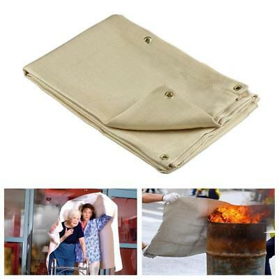 Quick Release Large Fire Blanket1.5MX1.5MWelding Blanket Flame Retardant  New