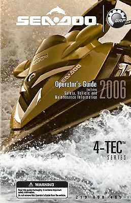 sea doo owners manual book 2008 gti gtx rxp rxt wake series rh picclick com Red and White Sea-Doo RXT 215 Sea-Doo RXT -X 300