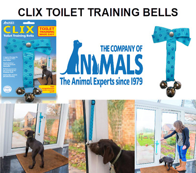 Company of Animals Clix Toilet Training Bells Puppy Dog Training Aid
