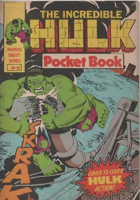 The Hulk Pocket Book #10 (Marvel UK: Digest Series) 1981 Very Good condition