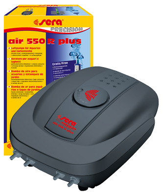sera air  110 - 550 R plus Luftpumpe Membranpumpe f Aquarium Aquariumbelüfter
