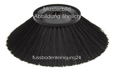 Side Brush Standard for Hako Hamster 1000 E / V, Poly 0,9 mm Black, Broom, Tel