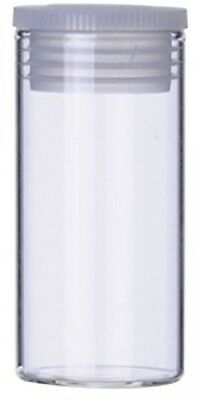 Wheaton ST5024 Specimen Vial with Stopper, Glass/Polyethylene, 16 mL, 25 mm x 50