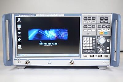 Rohde & Schwarz ZND Vector Network Analyzer - 100 kHz to 4.5 GHz, Opt: K5