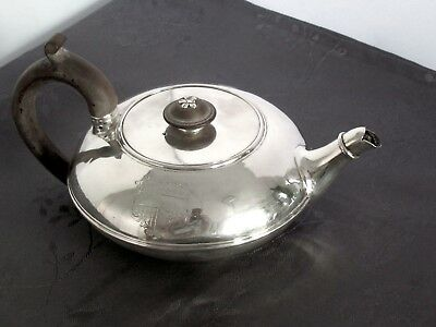 Argent Massif Teapot Londres George Iv 1820 Theiere