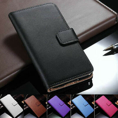 iPhone XS MAX XR X 8 7 6s Plus Genuine Leather Wallet Flip Cover For Apple