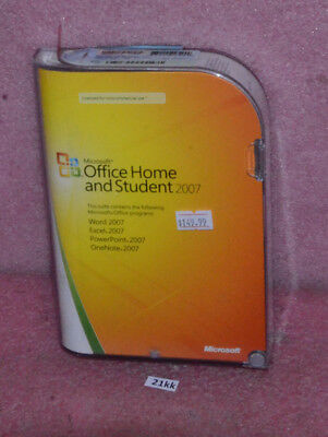 Microsoft Office Home And Student 2007.