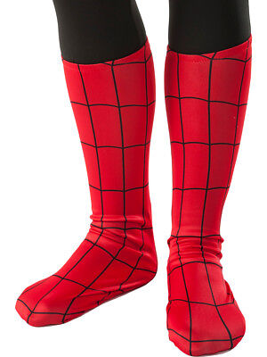 Child's Marvel Amazing Spiderman Costume Boot Covers
