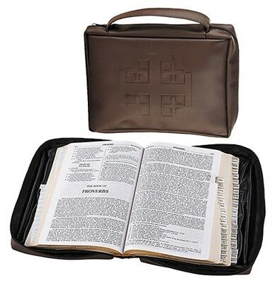 Medium Jerusalem Cross Bible Case