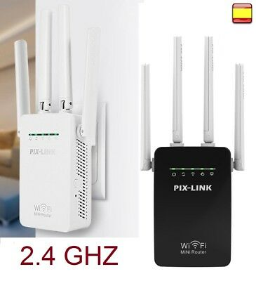 Router inalambrico repetidor WiFi Doble Banda Pix - Link 1200M 2,4G/5G