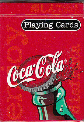 """Coca-Cola Playing Cards #351  'new Sealed"""""""