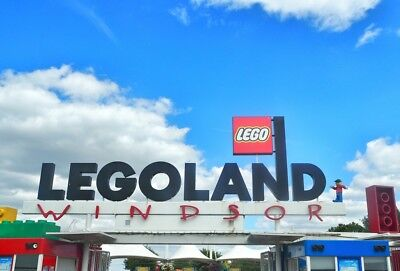2x Legoland Windsor e-Tickets 5/08/18 Sunday 5th August 2018 School Holiday