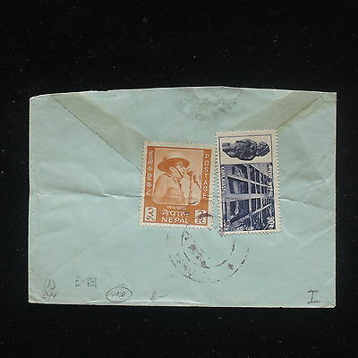 ZG-C639 Nepal - cover, great Frankierung
