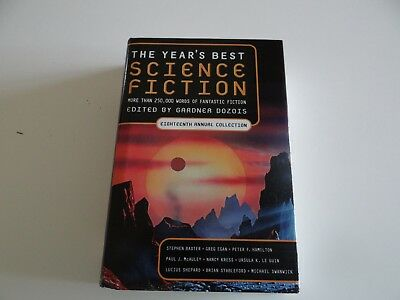 The Year's Best Science Fiction 18th annual collection w/Free shipping