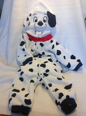 NWT Disney Baby 101 Dalmations Costume Size 18-24Months