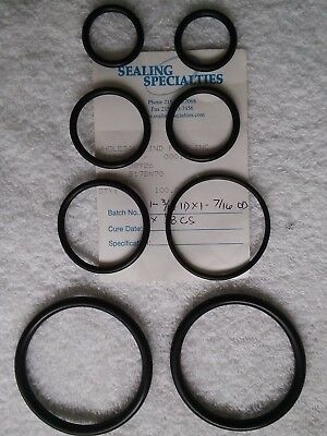 O-rings BUNA N, Nitrile-Acurate Size for Easy Part No.Cross Reference / 5pc/pack