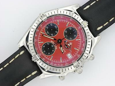 Breitling Gents Chronomat Steel Automatic Watch Red Arrows Limited Edition