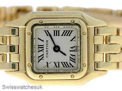 Cartier Panthere Ladies 18K Gold Quartz Watch - Cartier Watch
