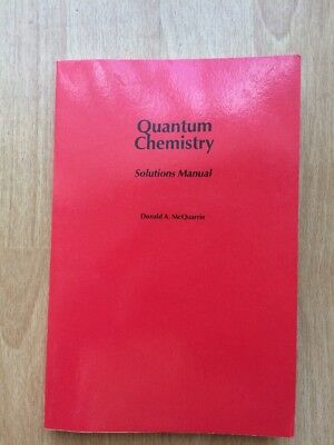 Quantum chemistry solutions manual by mcquarrie donald a 1144 quantum chemistry solutions manual by mcquarrie donald a fandeluxe Gallery