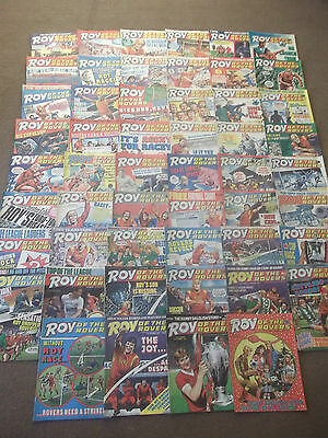 52 x ROY OF THE ROVERS from 1987 - Complete Year