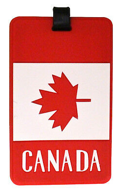 Canadian Themed Luggage Tags