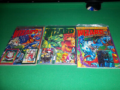 wizard price guide special edition 1992 plus #17 & 18 factory sealed W/ cards