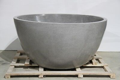 Stunning Round Terrazzo Stone Bath Tub Avail Grey & White IN STOCK NOW