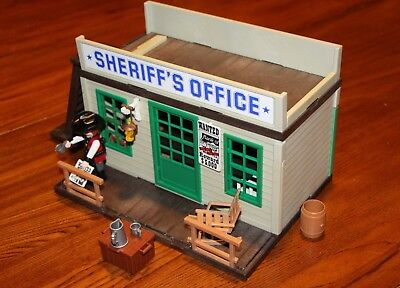 Playmobil 3423 Sheriff Office Western Vintage And Vhtf