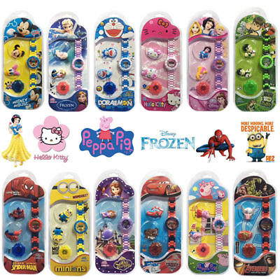 Kid Child Exchangeable Cover Case Cartoon Electronic Digital Display Wrist Watch