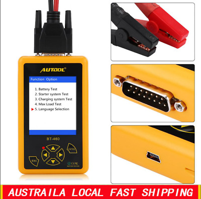 Car Truck Battery Tester 12V Auto Digital Charging System Analyzer 30-1700CCA
