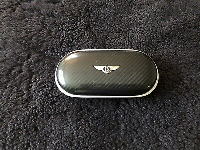 Bentley Continental GT 2013-17 Carbon Fiber Eyeglass Sunglass Case OEM RARE NEW
