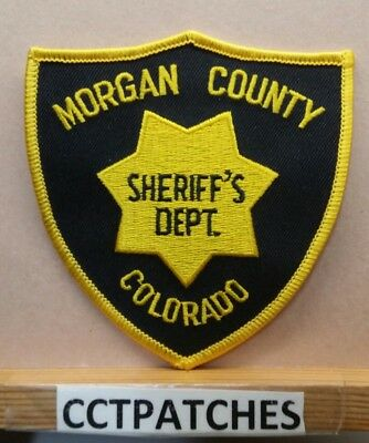 Morgan County, Colorado Sheriff (Police) Shoulder Patch Co