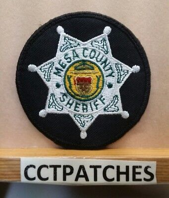 Mesa County, Colorado Sheriff Police Shoulder Patch Co