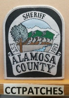 Alamosa County, Colorado Sheriff (Police) Shoulder Patch Co