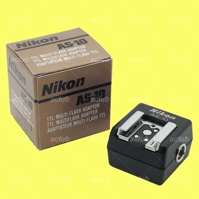 Genuine Nikon AS-10 TTL Multi-Flash Adapter for SC-23 SC-18 SC-26 SC-19 SC-27