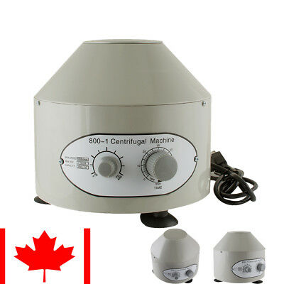 Electric Centrifuge Machine 4000rpm 25W Lab Medical Practice 20Ml X6 From CA