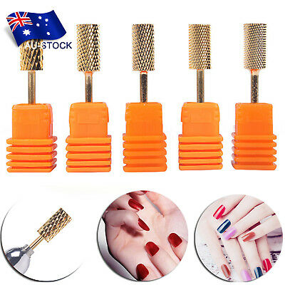Carbide Rotary Nail Drill Bit Smooth Round Top For Nail Polishing Manicure Tools