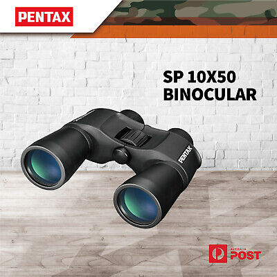 Pentax Sp 10x50 Binocular Fogproof Optics Camping Outdoor View