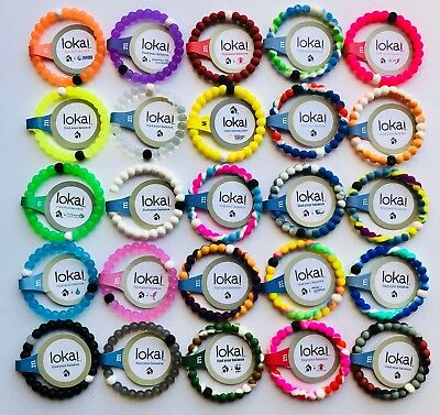 Brand New Lokai Bracelets All Sizing/30 Colours - BUY 2 GET 1 FREE - USA Seller