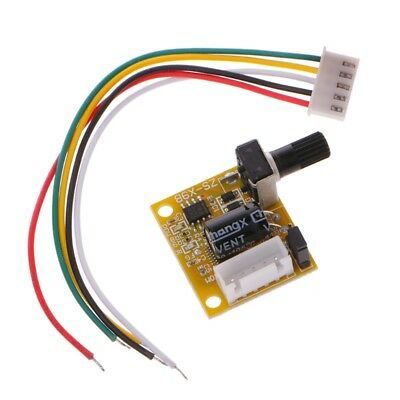 DC 5V-12V 15W 2A Brushless Motor Speed Controller No Hall BLDC Driver Board