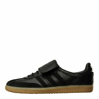 differently 50067 69632 New Mens adidas Samba Recon Trainers - Black 100% Leather