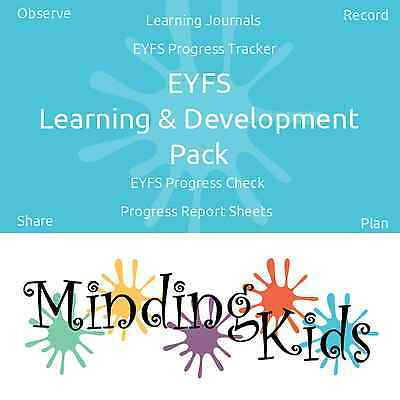 EYFS Learning & Development Pack - Observe, Record, Review & Plan Next Steps!