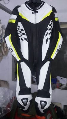 Real Motorbike Leather Suit Motorcycle Leather Suit XSTO 4XL ALL SIZES Available