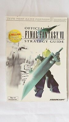 Final Fantasy VII 7 Official Strategy Guide  - *AUS SELLER*